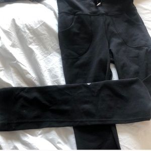 lululemon athletica Pants - Lululemon black high waist tie leggings